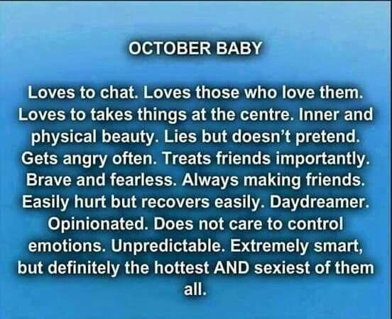 October Baby Here! :-) ♡