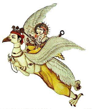 Garuda, Laxmi, Vishnu