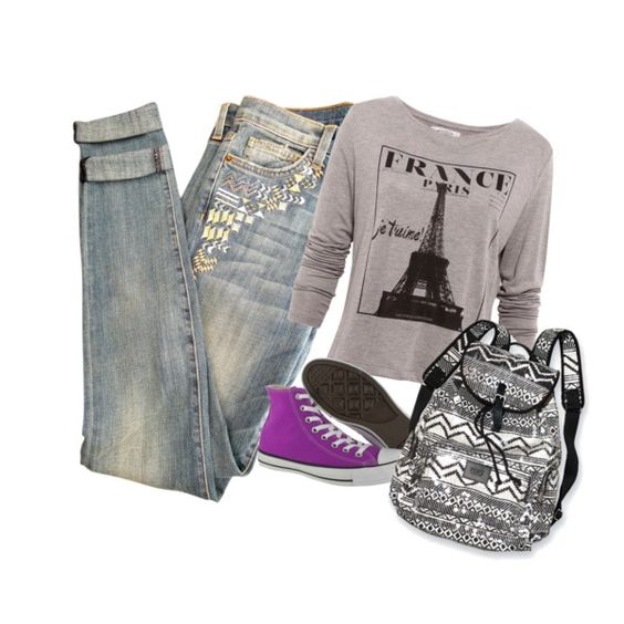 """""""Saturday outfit"""" by krystynastyle on Polyvore"""
