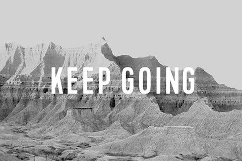"@juliakostreva ""keep going"""