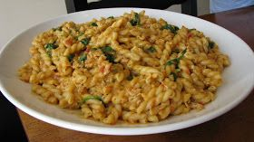 Carrie's Cooking and Recipes: Spicy Chicken Pasta