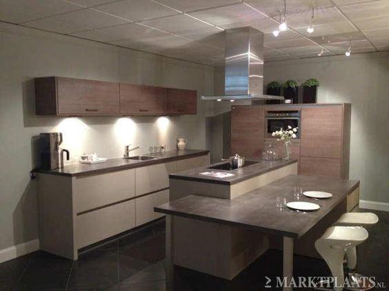 Marktplaats.nl   moderne showroomkeuken met kookeiland   keuken ...