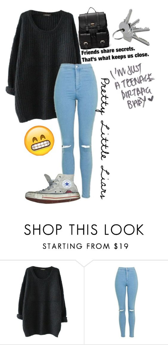 """""""👌🏼😻"""" by ugh-nxghts ❤ liked on Polyvore featuring Topshop, Converse and Sole Society"""