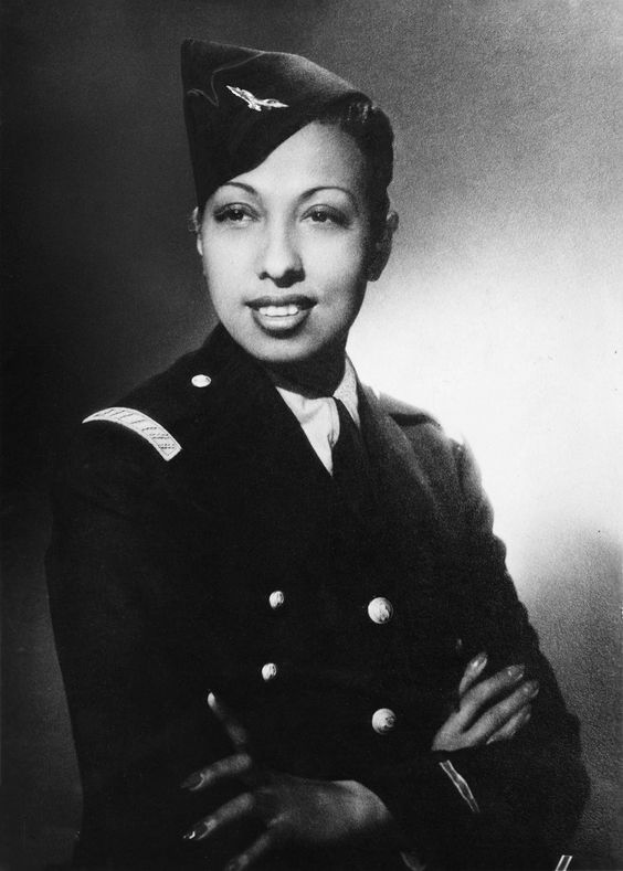 Josephine Baker worked for the Red Cross and the French Resistance during World War II: