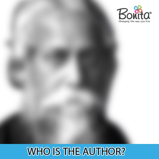 A Bengali philosopher, poet, composer, artist, playwright and novelist. He is India's first Nobel laureate, who won the Nobel Prize for Literature in 1913. Guess who's this legendary author? #whostheauthor