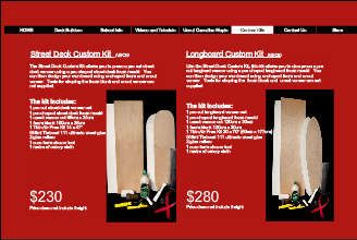 Australian Skateboard Kits supplies skateboard deck and longboard kits for custom deck building at home or in the classroom.  Using the patented Thin Air Press System, there is no need for dangerous adhesives or power tools.