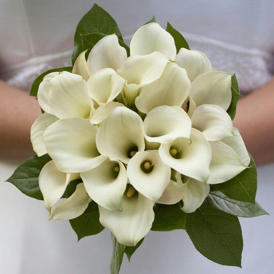 Simple and pretty bridal bouquet.