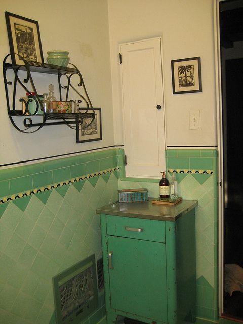 2 1933 spanish house shark fin shower bath and for 1930 bathroom tile ideas