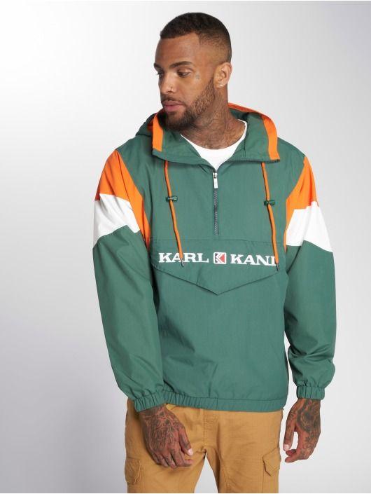 Karl Kani Lightweight Jacket Retro Blocked green   80's