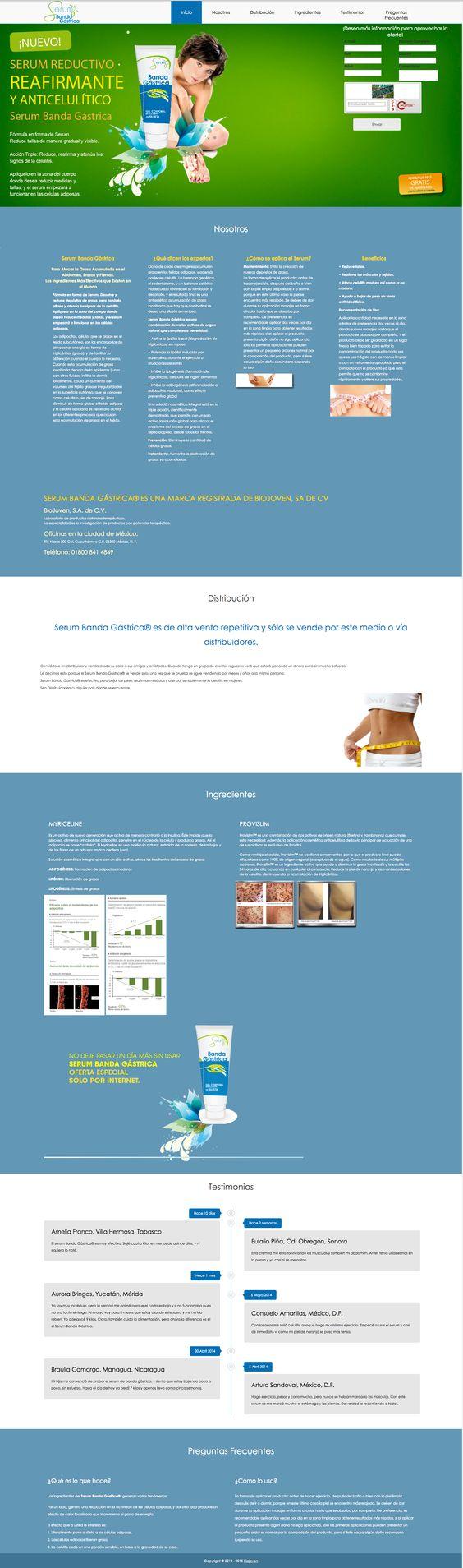 Sitio OnePage Desarrollado en HTML5, CSS3 y jQuery