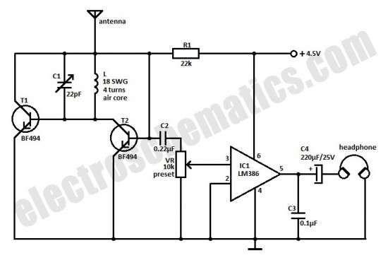 Small Fm Radio Circuit Fm Radio Receiver Fm Radio Radio