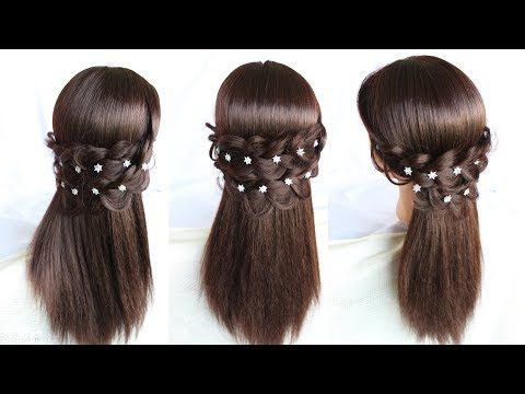 Beautiful Party Juda Hairstyle Messy Bun Hair Bun Bun Hairstyles Bun Short Hairstyles Youtube Open Hairstyles Medium Brown Hair Hairstyle