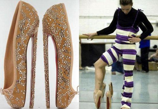 louboutin ballet boots