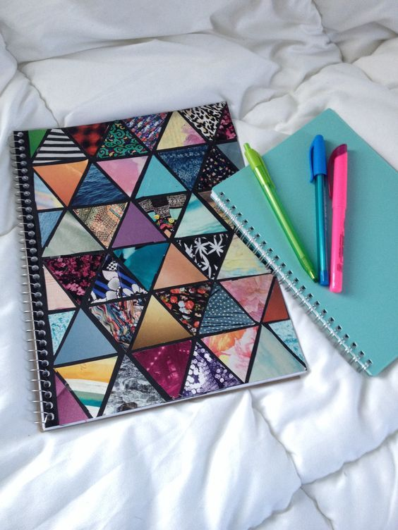 Diy Spiral Notebook | DIY Tumblr Inspired School Supplies for Teens that will spice up your school day!: