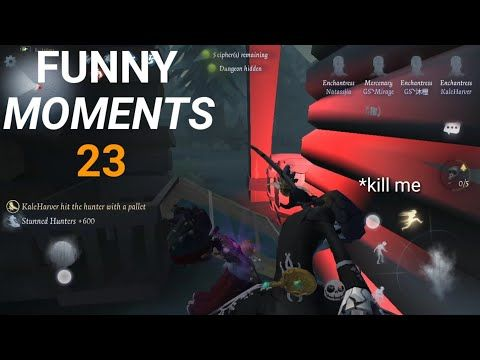 Identity V - Funny Moments 23 - YouTube   Funny moments, Music video song,  Youtube