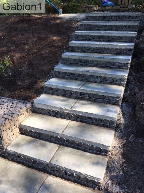 Image Result For Gabion Stairs Garden Stairs Garden Steps Patio Flowers