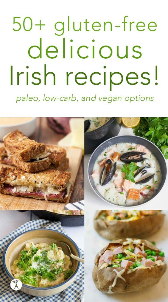 50+ Delicious gluten-free Irish Dishes :: vegan, low-carb, & paleo options!