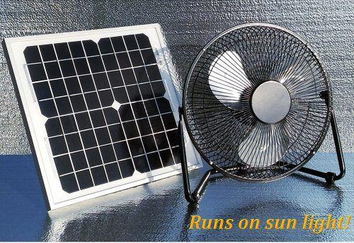 Western Harmonics Solar Powered Fans Solar Powered Fan Solar Power Solar