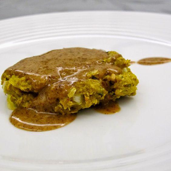 Cozinhar sem Lactose: Hambúrgueres de batata doce com caril tailandês