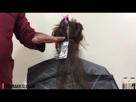 كيفية تطبيق ليميش بالألومينيوم Les Meches Balayage مع شرح سهل و مبسط الدرس السابع عشر Youtube In 2021 Hair Styles Hair Beauty