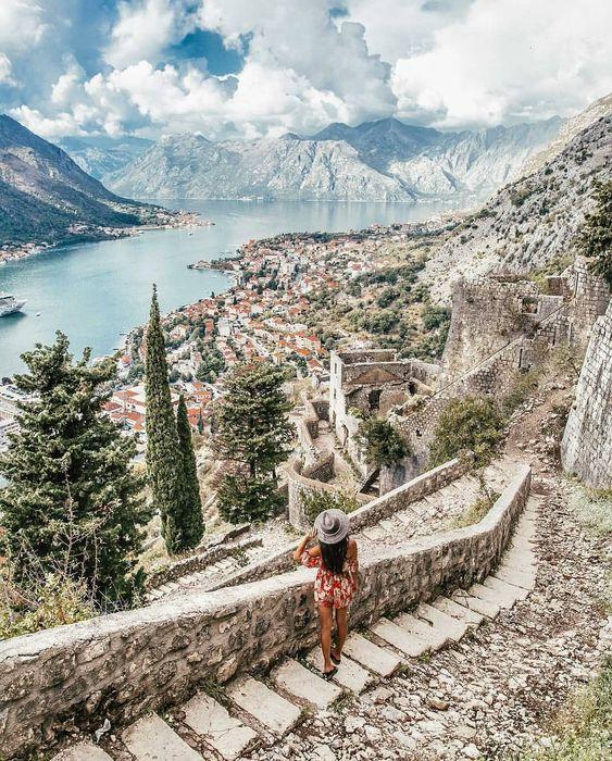 ⛰️ Montenegro 🏔 Kotor ⚓️ 📷@bucketlistbums #montenegroforever #kotor #mountains #mne #montenegro #crnagora #монтенегро #черногория #adriatic…