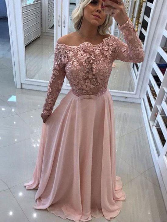Abendkleider Rosa Valentins Day In 2020 Elegante Abendkleider Abendkleid Abendkleid Rosa
