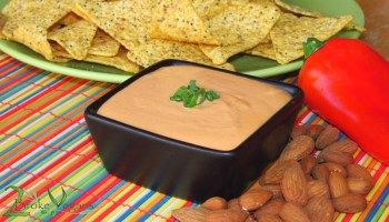 Vegan Nacho Cheese Dip