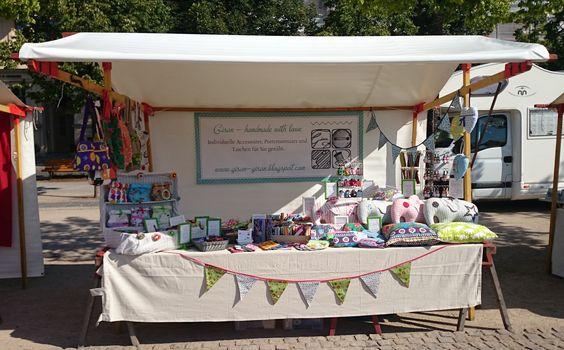 Gisan - handmade with love auf dem Luisenfest