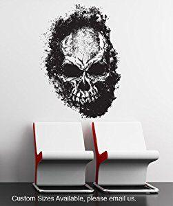 Vinyl Wall Decal Sticker Skull #847B