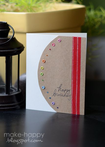Using up Eyelets on a Card...Brilliant and Beautiful!