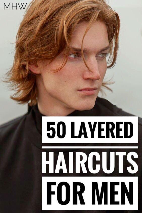 13++ Mens layered long haircut inspirations