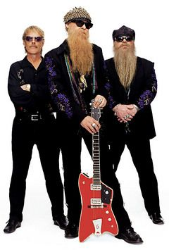 ZZ Top's facial hair has become their look!  If Billy Gibbons shaved, would we even know it was him?