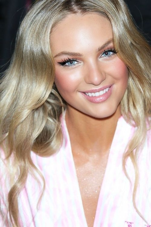 Victoria's Secret makeup, this is the color I want my hair