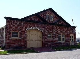 The original 1860 Pony Express stables in St. Joseph,  Missouri now serves as the Pony Express Museum.