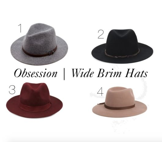 Obsession | Wide Brim Hats