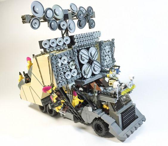 #MadMax Fury Road, les véhicules en #Lego