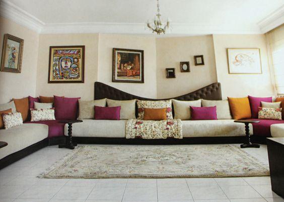 magasin salon marocain design - Decoration Triate Du Salon Beldi