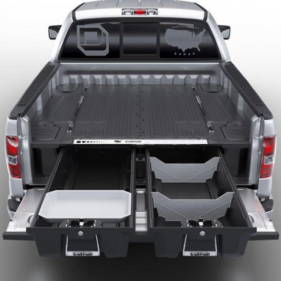 Ford F 150 Truck Bed Dimensions >> Decked Truck Bed Cargo Drawers For Ford F 150 Camper