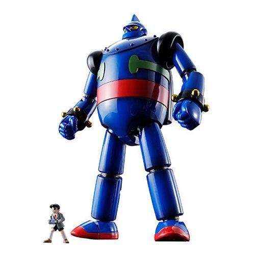 gigantor gx 24r tetsujin 28 go bandai soul of chogokin action figure