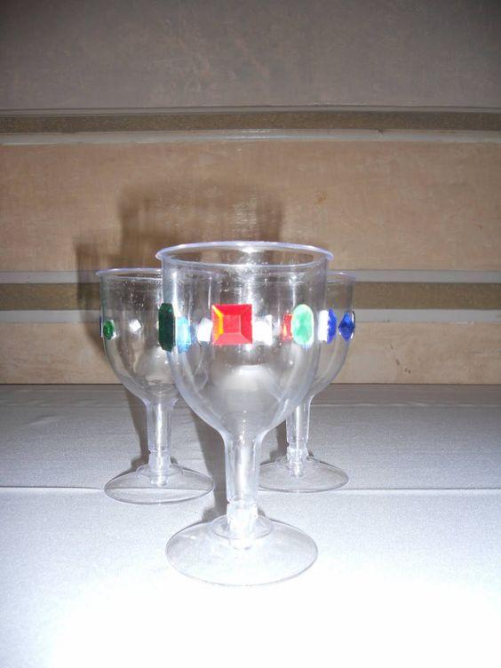 Razle dazle events medieval theme decorations goblets day camp 2016 pinterest crafts - Plastic goblets medieval ...