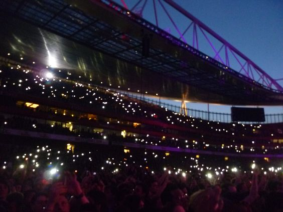 Muse Arsenal stadium. Enorme!!!
