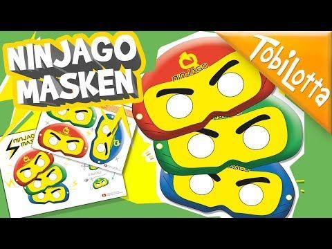 Ninjago Masken Vorlage Zum Ausdrucken Gratis Tobilotta Bilder Zum Ausdrucken Masken Zum Ausdrucken Masken Basteln
