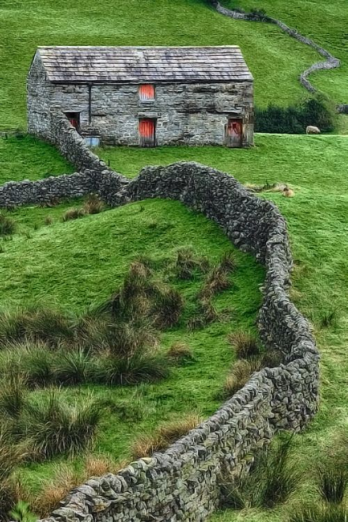Swaledale Barn in North Yorkshire: