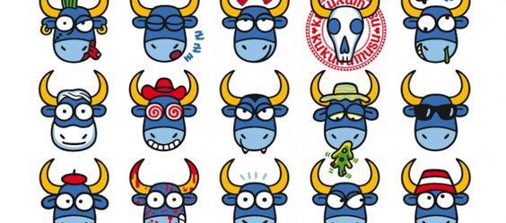 Bull Faces ... ;)  Kukuxumusu