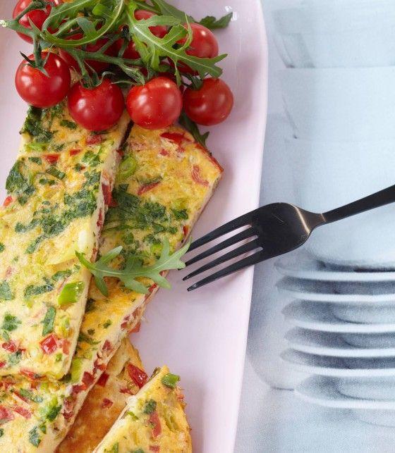 Tomaten-Omelette #Rezept