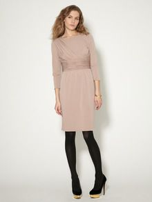 Fanny Ruched Jersey Dress by Tahari ASL at Gilt