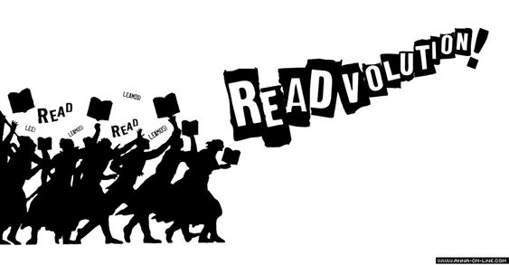Lets READ! is the READVOLUTION ! Happy World BOOK DAY ! Feliz Dia del LIBRO ! Es la READVOLUTION