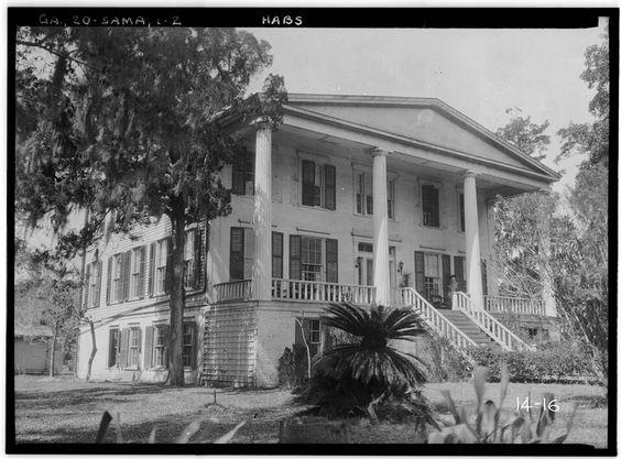 Orange Hall, Saint Marys, Camden County, GA