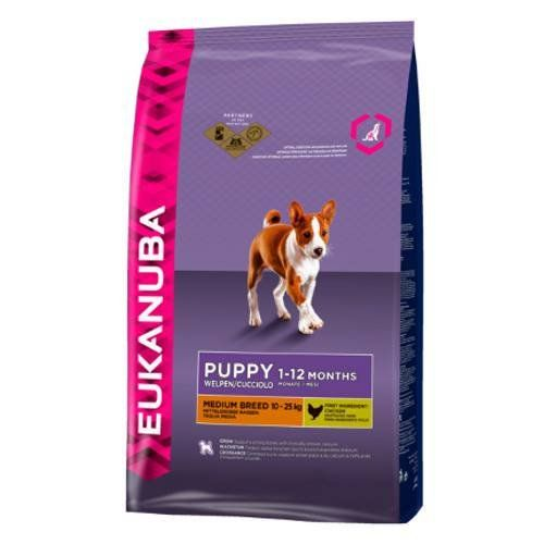 Eukanuba Chicken Medium Breed Puppy Dog Food 1kg See This Great Product This Is An Affiliate Link And I R Dog Food Allergies Dog Food Recipes Dry Dog Food