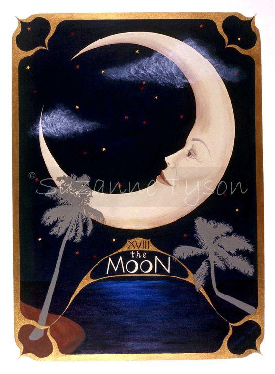 The Moon Card 18: